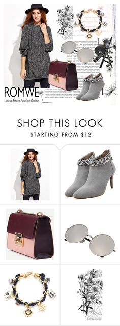 """ROMWE 3"" by aida-1999 ❤ liked on Polyvore featuring Pennyblack"