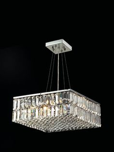 I love this chandelier. Very modern