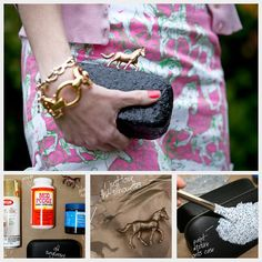 Kentucky Derby DIY Clutch