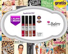 Etkileyici dudaklara sahip olmak için en güzel seçenekler Gratis'te! #Güzelbakkendine #TheBalmGratiste