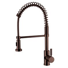 Spring Pull Out Oil Rubbed Bronze Kitchen Faucet