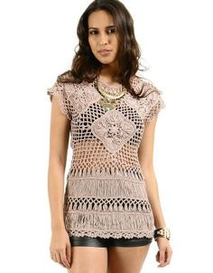 Shop ModDeals.com for discounted Macrame Knitted Blouse in Mauve. Find cheap womenís Blouses in our online fashion clothes & accessories store.