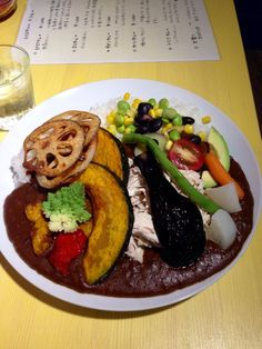 Hipster curry place in Tokyo - Trico Curry