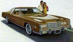 1975 Cadillac Eldorado. 502 cu. in. engine. 3 mpg.