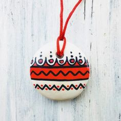 Medalioane « Categorii de Produse « Mărgelușa Christmas Ornaments, Holiday Decor, Handmade, Home Decor, Block Prints, Hand Made, Decoration Home, Room Decor, Christmas Jewelry