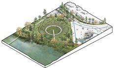 Galería de DARP, mención honrosa en concurso de ideas del Parque Juan Amarillo en Bogotá - 7
