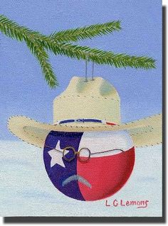 Texas Christmas card