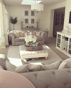 Spot the naughty kitten 🐱 this might be the last picture of the living room before the Spring/Summer blush pink disappears & I go all Autumn'd ou… Room decor neutral Living Room Decor Cozy, Cottage Living Rooms, New Living Room, Home And Living, Living Room Ideas 2018, Living Room Picture Ideas, Modern Living, Living Room Contemporary, Cosy Home Decor