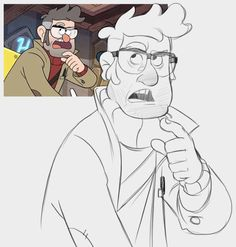 ArtStation - redraws gravity falls, Puba 24