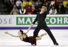 Davis and White of the U.S. perform their ice dance free dance at the ISU World Figure Skating Championships in London, Ontario