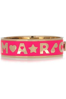Marc by Marc Jacobs pink bangle