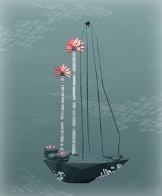 Islands by Erwin Kho, via Behance