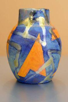 [Iridescent Pottery by Paul J. Katrich (1267)]