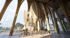 Zaha Hadid Unveils Design for Genocide Research Center in Cambodia