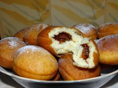 Romanian Food, Dessert Recipes, Desserts, Pretzel Bites, Nutella, Muffin, Good Food, Food And Drink, Bread
