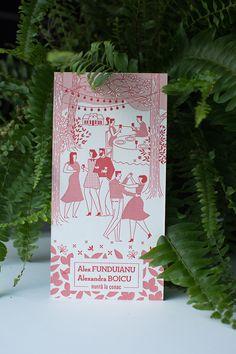 Letterpress garden Wedding Invitations