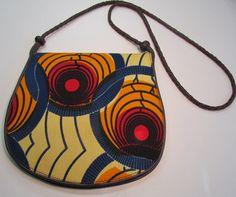 African Print Shoulder Bag by ifenkili on Etsy, $25.00