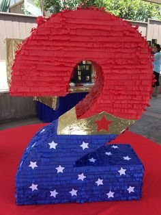 Maravilla de mujer 2 Piñata cumpleaños de por LetsPartyByKarla