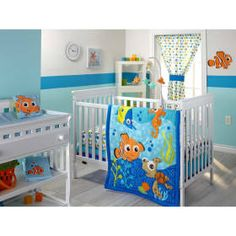 Finding Nemo 3 Piece Crib Bedding Set