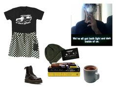 """""""No. 27"""" by melissaemily08 ❤ liked on Polyvore featuring Dr. Martens, SELECTED and CASSETTE"""
