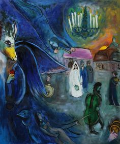 Marc Chagall great master from Russia, Marc Zaharovich Chagall was a Russian artist associated with several major artistic styles and one of the most successful artists of the 20th century. Description from oilpaintingsclub.com. I searched for this on bing.com/images