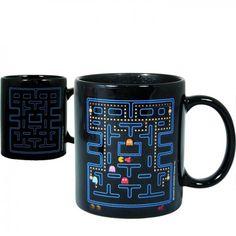 Taza sensible al calor, Pac-Man - Tienda de regalos originales QueLoVendan.com