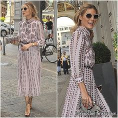 Olivia Palermo in Giamba out in Milan. ( Daily Mail) ~