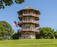 Baltimore's first park! -- Patterson Park Pagoda