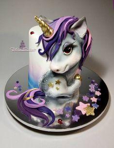 (5) Facebook Horse Template, Cake Trends, Cake Art, Panna Cotta, Ethnic Recipes, Food, Unicorn, Pasta, Facebook