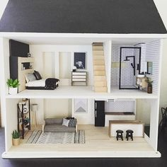 Check out my latest blog which compares 4 popular dollhouses, what to consider when deciding which one to choose and of course to make sure you consider all the amazing mini makers on Instagram who sell everything from actual houses right down to tiny little plants! (Link to blog on my profile page)