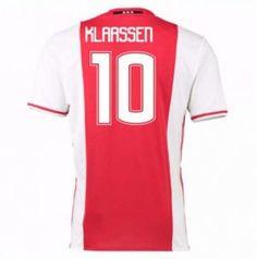 16-17 Ajax Home #10 Klaassen Cheap Replica Jersey [G00716]