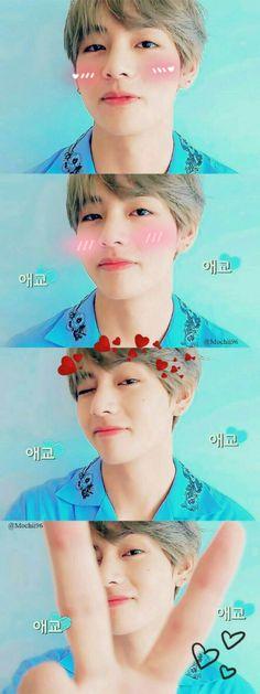 so cute kim taehyung Jimin, Bts Bangtan Boy, Jhope, Namjoon, Kim Taehyung, Daegu, Bts Memes, K Pop, Boy Band