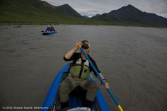 Marsh Fork Hiking & Canoeing - Arctic National Wildlife Refuge.  Experience some of the best hiking Alaska has to offer on this amazing combination canoeing and hiking adventure in the high Arctic. This 10 day expedition begins in Fairbanks with a 300 mile flight north into the mighty Brooks Range. Our bush-pilot will drop us off on a small airstrip high in the Philip Smith Mountains on the western edge of the Arctic National Wildlife Refuge.