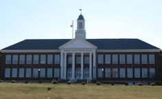 Warren County Middle School- Used to be my high school, built in 1940, I believe. My grandfather worked on the construction of the building.