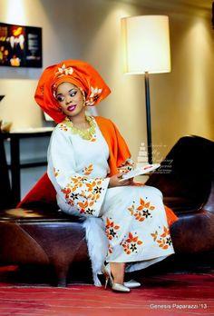 Stunning african bride