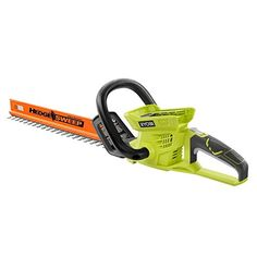 Power Hedge Trimmers - Ryobi 24in 40Volt Lithion Cordless Hedge Trimmer in Retail Package Bare Tool -- For more information, visit image link. (This is an Amazon affiliate link)