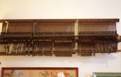 piano, soundboard/keys from an upright. Genius idea