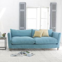 Marmalade Sofa In Mist Cotton Mix Paint Decor Pinterest Living Rooms And Comfy