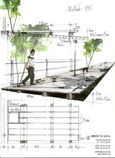 Architectural rendering