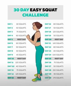 30 day squat challenge to reduce weight loss squats challenge, squats challenge 30 day, squats workout, squats workoutplan, fitness challenge fitness Quotes Fitness Workout For Women, Body Fitness, Fitness Workouts, Fitness Goals, Fun Workouts, Health Fitness, Fitness Diet, Fitness Humor, Funny Fitness