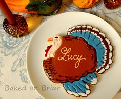 Thanksgiving Placecard Cookie | Flickr - Photo Sharing!
