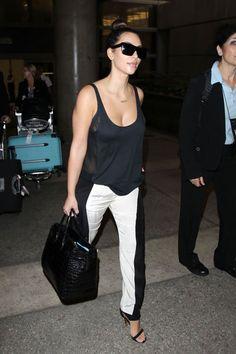 Celine sunglasses/ Sass  Bide pants