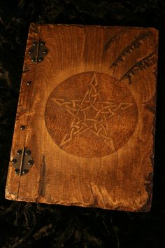 Handmade wooden A4 Book of Shadows. Made by Spirit of the Dragonfly £25.00 plus p&p