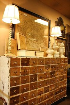 old library card catalog by adriana | Murphy Bed | Pinterest ...