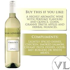 The perfect SUMMER wine, LIKE if you agree! #VanLoveren Creamy Pasta Dishes, White Meat, Granny Smith, Smoked Salmon, Wines, Compliments, Herbalism, Perfume, Van