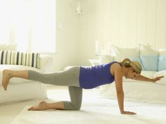 Do a Smart Move for a Flat Belly -- The Working Mom Workout: 20 Multi-Tasking Moves