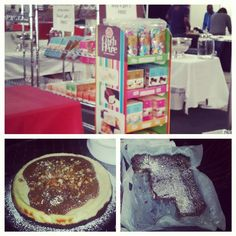 Coffee and Choc expo 2015, cheesecake, brownies and Nougat