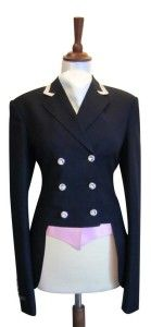 Show Jacket - Short Dressage Jacket - Juuls Jackets - Riding wear - Equestrian - Clothes - Sweet pink - Swarovski