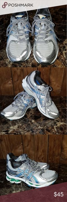 Asics size 6 Worn just ones Asics Shoes