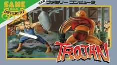 Same Name, Different Game: Trojan (NES vs. Arcade, Capcom Chronology Par...